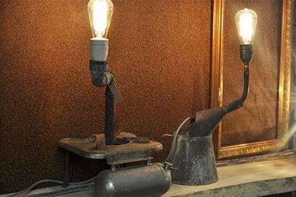 Bild på Skulpturlampa med primuskök