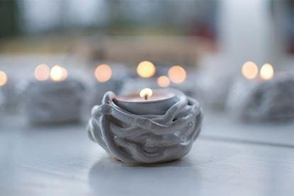 Bild på Keramiknystan  ljuslykta