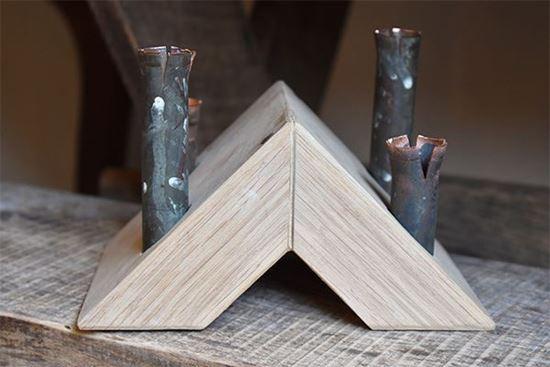 Bild på Pyramid ljusstake