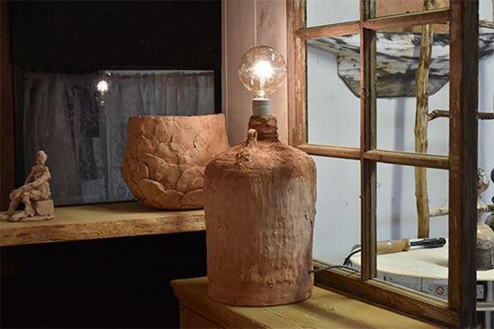 Bild på Skulpturlampa Urna