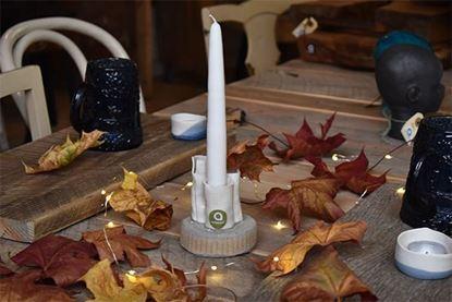 Bild på Keramikrör ljusstake
