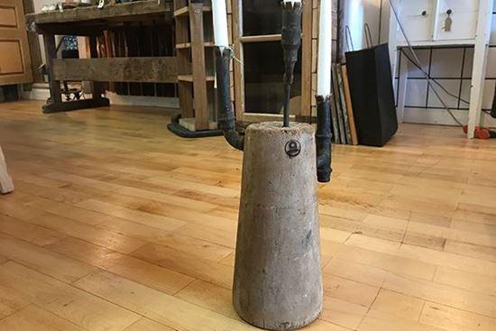 Bild på Kon med kopparrör