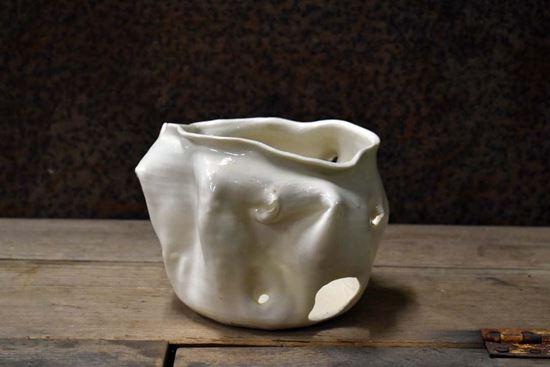 Bild på Ljuslykta i keramik